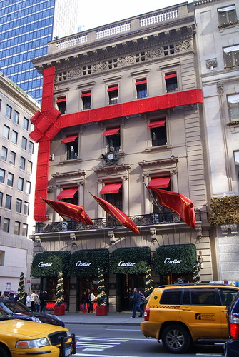 Christmas at Cartier NYC