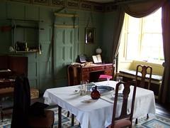 Darwins room, Christs College, University of Cambridge