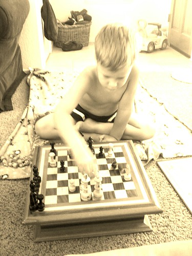 My chess champion