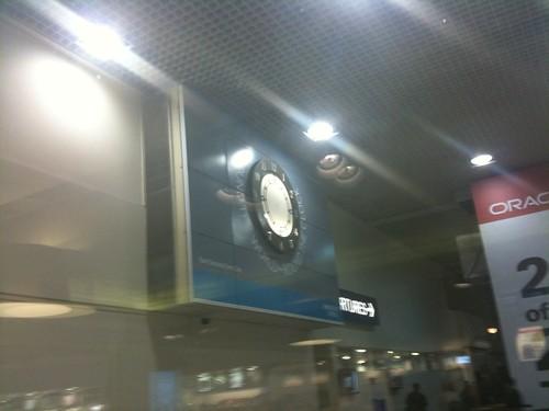 Barclay Capital handless clock