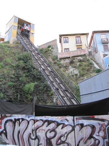 One of the many ascensores