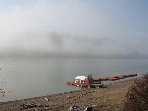 Fog on the Ohio River