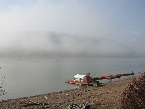 Fog on the Ohio River