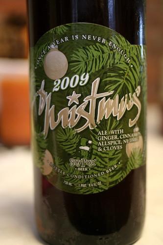 slyfox christmas ale