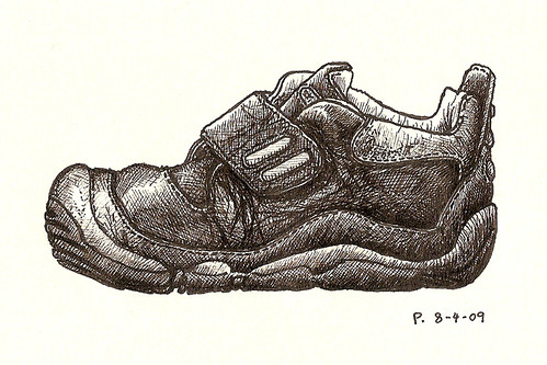 #5: big-toe shoe (side view)