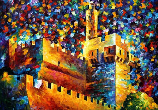 Image selected for Amazing Paintings from Leonid Afremov