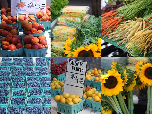 Tenafly Farmers Market Collage by you.