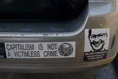 Milton Friedman, proud father of global misery