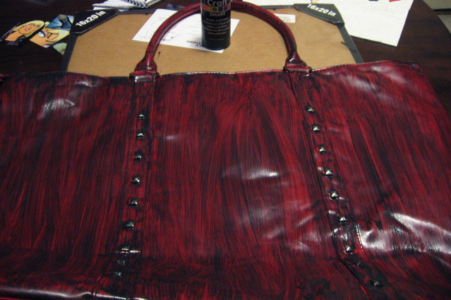 Bag, post-painting