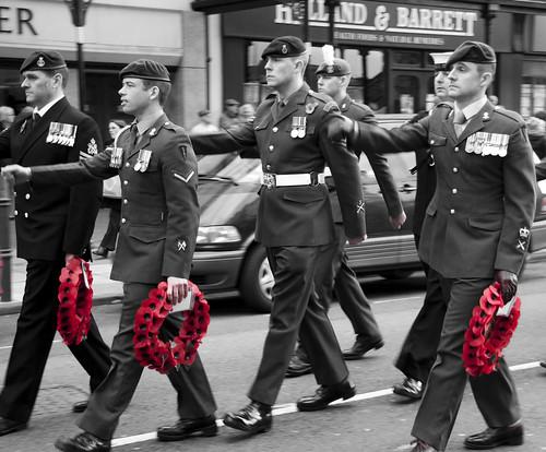 Armistice Day Soldiers