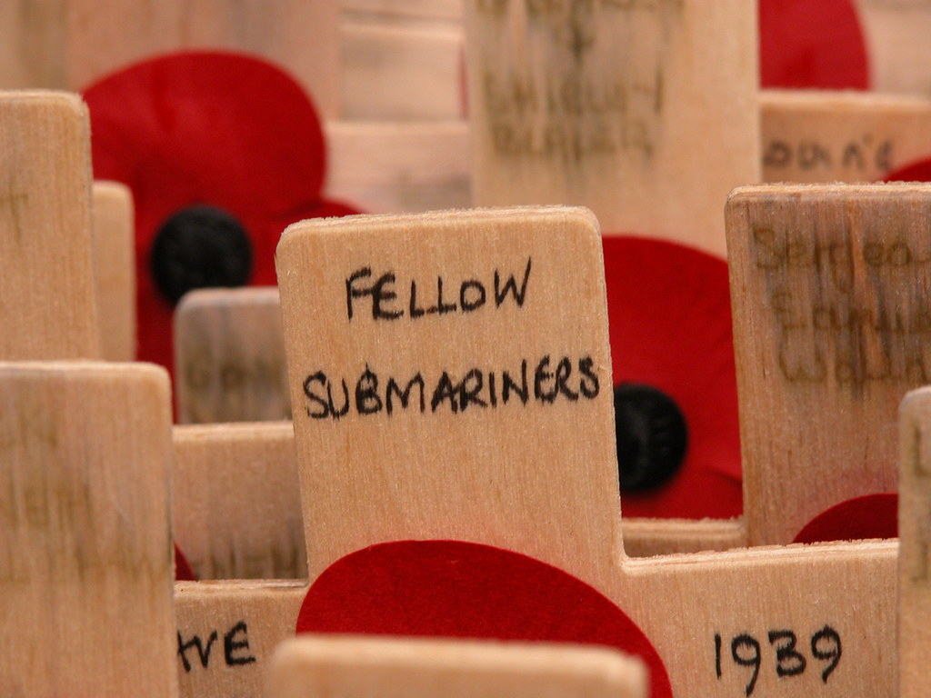 Fellow Submariners, Field of Remembrance, 2009