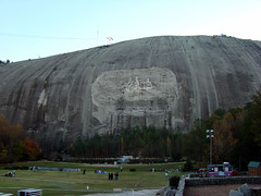 Stone Mountain from Memorial Park