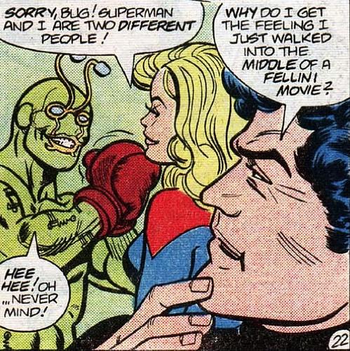Supergirl Meets Ambush Bug