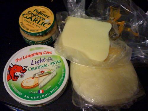 Impromptu mac & cheese