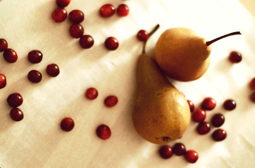 pear+cranberry