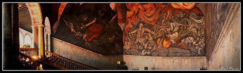 Mural Miguel Hidalgo, Jose Clemente Orozco, Panoramica