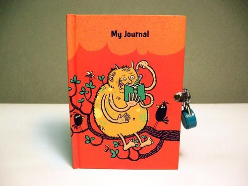 Scribbling Monster Diary cover