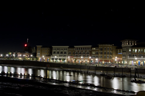 Napa Riverfront at Night