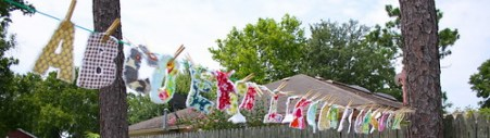 Rag Quilt Letters & Numbers