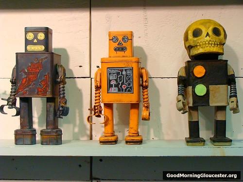 The Hive Cape Ann- Tom Torrey's Gammraybots