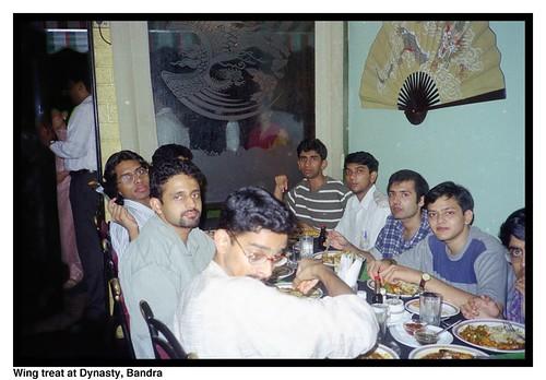 Wing treat at Dynasty, Bandra