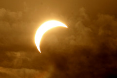 Solar Eclipse, New Delhi