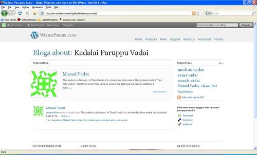 Featured Blog Screen shot