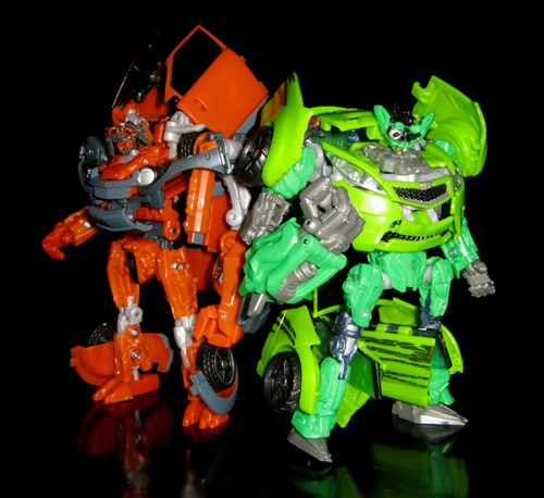 Autobot Mudflap & Skids