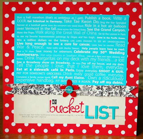 CH_My Bucket List