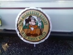Our subtle tribute to our home away from home: Fort Wilderness!