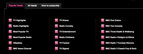 Thematic BBC TV Channels on Boxee, courtesy of DeliTV