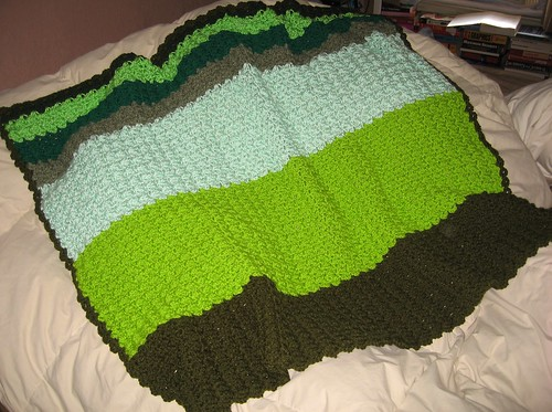 Green Blanket for Linus Oct 2009