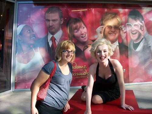 Me and Marilyn Monroe