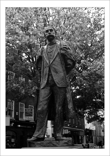 The Elgar Statue, Cathedral Roundabout, Worcester