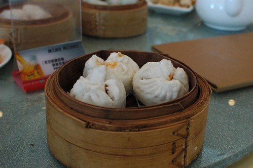 Steamed BBQ pork bun