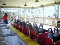 Cedar Point - Mean Streak Station