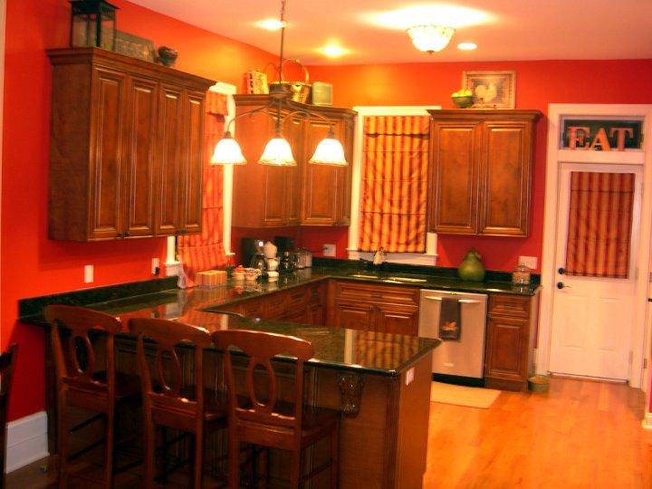 Seeing Red Kitchen Update