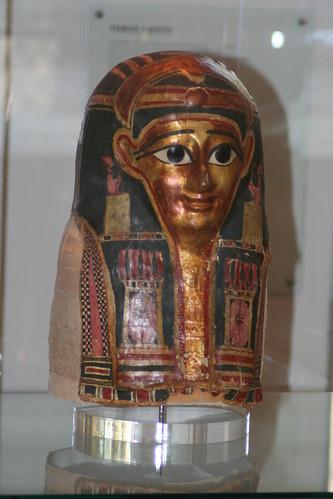 20090920 Glasgow 07 St Mungo Museum of Religious Life and Art 029 Egyptian Mummy Mask