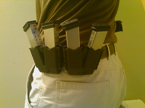 Dual XD Mag pouches by you.