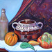 squash pumpkin and bean pot