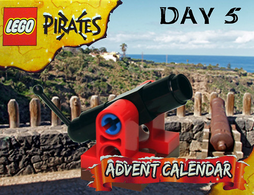 Pirate Advent Calendar Day 5