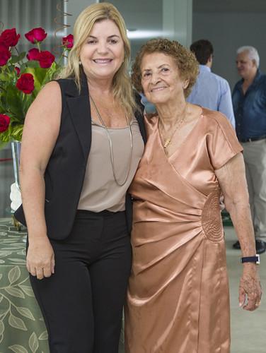 Márcia Salles e Dona Lilá Salles