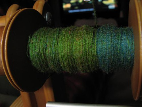 Puny progress on plying polwarth