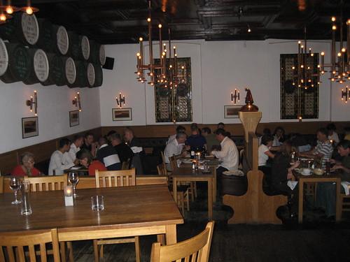 Dónde comer y gastronomía en Estocolmo (Suecia) - Restaurante sueco Glenfiddich Warehouse.