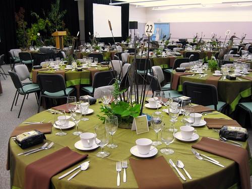 Weyerhaeuser King County Aquatic Center banquet room