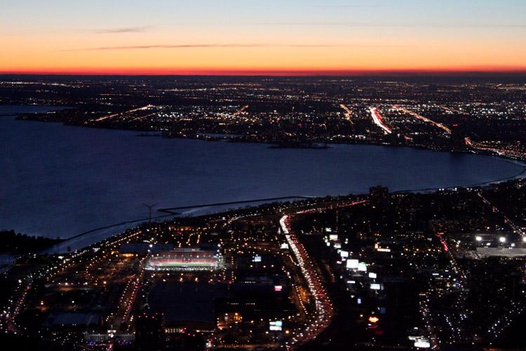 CN Night Lights