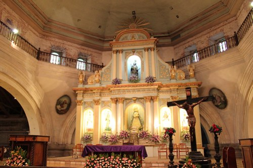 Inside San Guillermo Parish Church