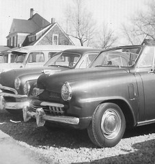 USED CAR LOT IN TRENTON MISSOURI 1958, FRANK'S...