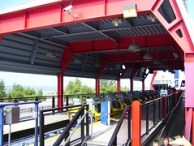 Cedar Point - Millennium Force Unloading Station