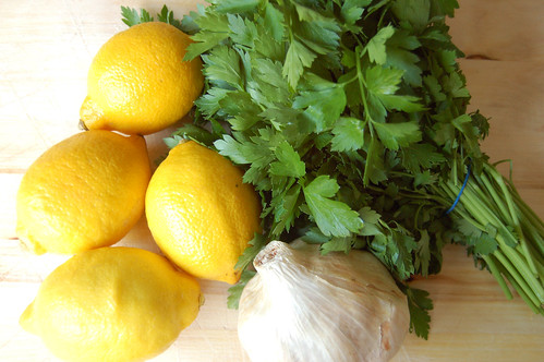 Week Two: Ingredients for Gremolata